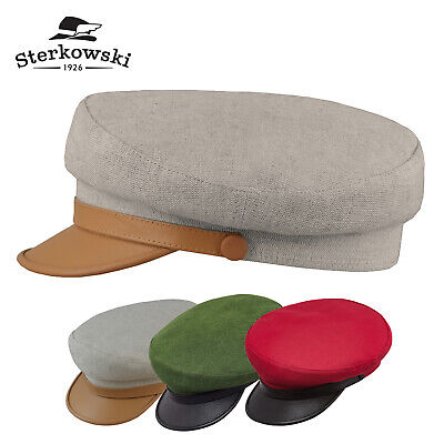 2f9609ffaaa6cd Sterkowski 'MACIEJOWKA MODEL 7' Summer Linen Liverpool Cap Leather ;  Fisherman