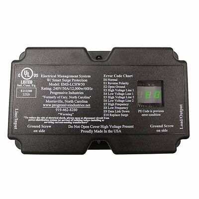 Progressive Industries EMS-LCHW50 50A Voltage & Surge Protector