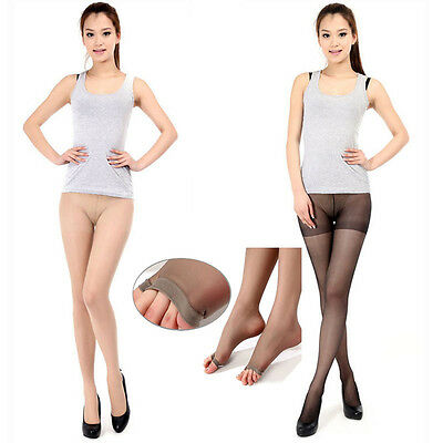 Hot Women/Girls Open Toe Sheer Hosiery Pantyhose Toeless Stockings Peep-toe Pump