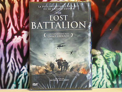 DVD neuf sous blister : THE LOST BATTALION - Film aux 3 nominations Emmy Awards