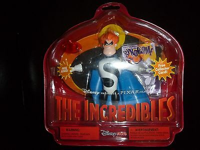 Disney Pixar The Incredibles Disney Store Exclusive syndrom action figures