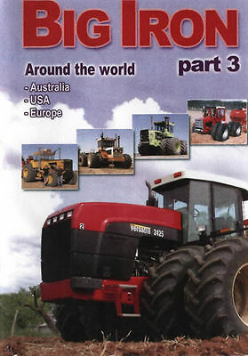 Big Iron Part 3, Around the world - Australia - USA - Europe, DVD