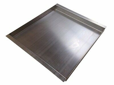 Hog Roast Carving Tray Hot Plate Stainless Steel - Small