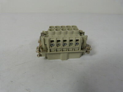 Weidmuller 1203900000 Connector Male 600VAC 10Pin  USED