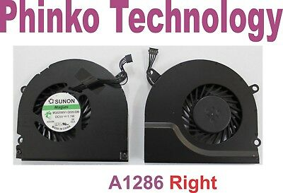 "NEW Apple MacBook Pro UNIBODY 15"" A1286 RIGHT Cooling Fan"