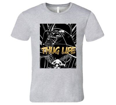 Darth Vader THUG LIFE violent, star wars  T Shirt