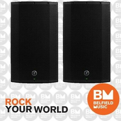 "2 x ALL NEW Mackie Thump 15 BST Boosted Powered Speaker 1300w 2-Way 15"" Pair"