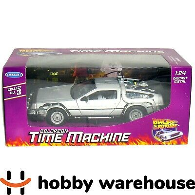 Welly Back to the Future - Delorean Time Machine 1:24 Diecast Metal