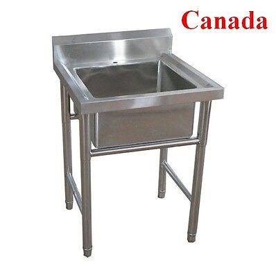 Commercial Kitchen Stainless Steel Sink Pickup only No Shipping
