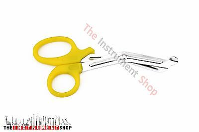 Medical Utility Tuff Cut Scissors Supplies Yellow
