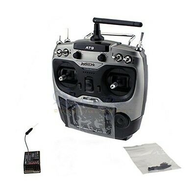 RadioLink AT9 9-Channel 9CH 2.4GHz Transmitter + R9D Receiver (with S.Bus) for R