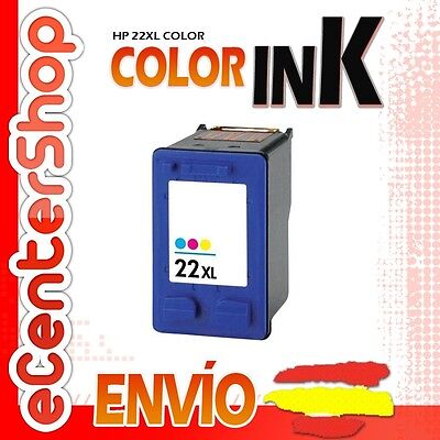 Cartucho Tinta Color HP 22XL Reman HP Deskjet F4180