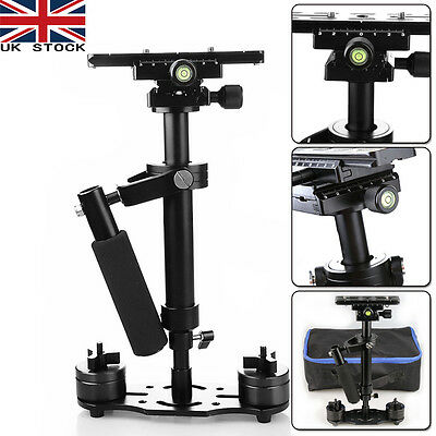 S40 Handheld Stabilizer Steadicam For Video Canon DV Camera DSLR Camcorder + Bag