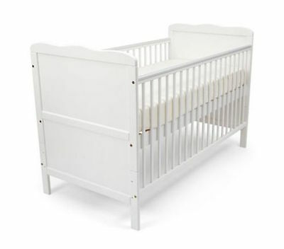 """PuckDaddy baby cot """"Cloud"""" 140 x 70 cm, transformable into a bed"""