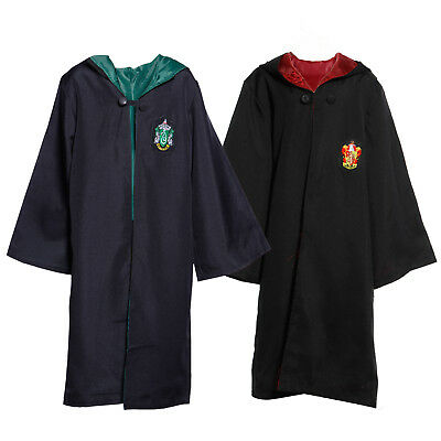 Bambini Cosplay Costume Mantella Harry Potter Gryffindor  Slytherin 140cm-160cm