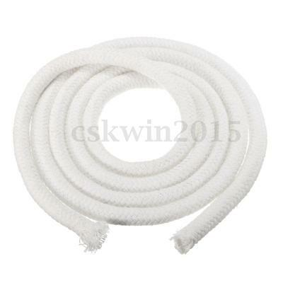 """1/2 """" Inch ROUND COTTON WICK For Alcohol Lamp Garden Patio Torch DIY 5FT Length"""