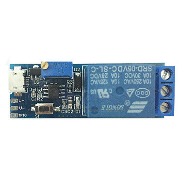Wide voltage 5V~30V trigger delay relay module timer module