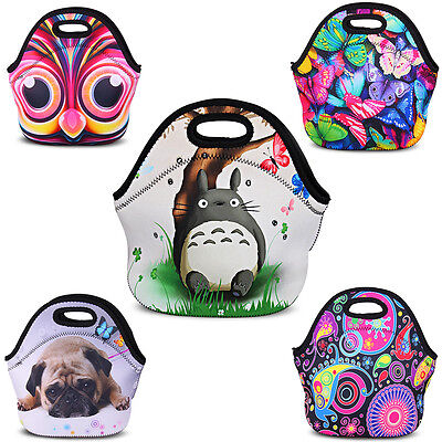Thermal Insulated Waterproof Lunch Bag Box Picnic Pouch Tote Cooler Bag Handbag