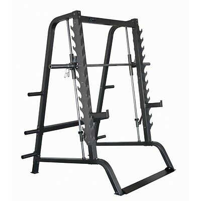 DKN Smith Machine, Multifunzione, Squat, Bilanciere Olimpico 220CM