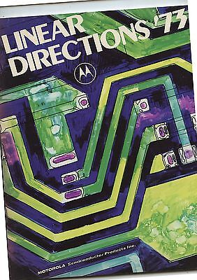 Old 1973 Linear Directions Computer Component Catalog Motorola