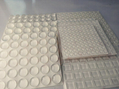 Self-Adhesive round square rubber Feet Clear Bumpers Pad