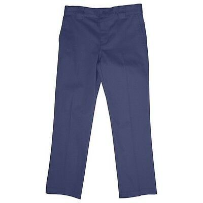 Zeco Boys Waist Adjustable Trousers In Navy School Uniform Trouser