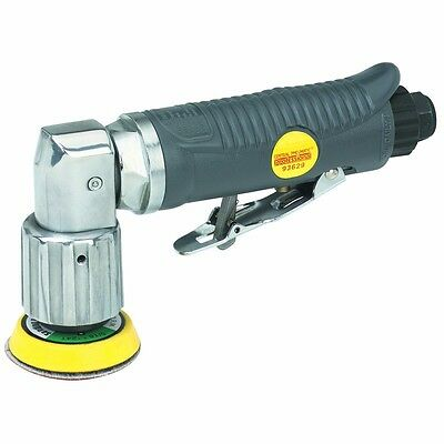 """2"""" Mini Orbital Air Sander With 90 Degree Angle Head for Tight Work Areas NEW"""