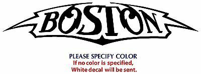 Boston Metal Music Rock Band Funny JDM TV Vinyl Sticker Decal Car Window Wall 8""