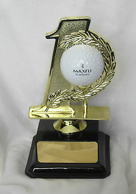 Hole In One 1 Trophy With Free Engraving - Your Choice Of Text