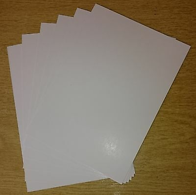 A6 SMOOTH SILK WHITE CARD 290gsm Card Stock High Quality