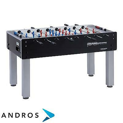 GARLANDO Pro Champion ITSF football table - solid rods Black