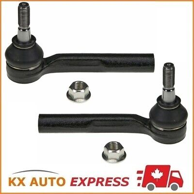 2x FRONT OUTER TIE ROD END FOR PONTIAC G6 2005 2006 2007 2008 2009 2010