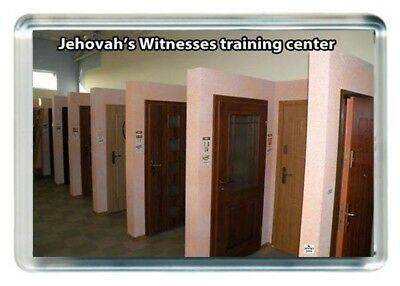 Jehovah's Witness Train Training Centre Practice Door Knock Saying Gift Present