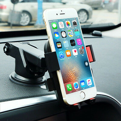 Universal In Car Windscreen Suction Mount Mobile Phone Sat Nav Holder Stand