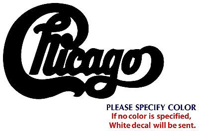CHICAGO Metal Music Rock Band Funny JDM Vinyl Sticker Decal Car Window Wall 7""