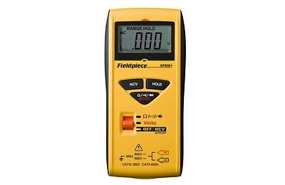 SPDM1 Fieldpiece Auto-ranging Pocket Digital Multimeter DMM. New in pkg.