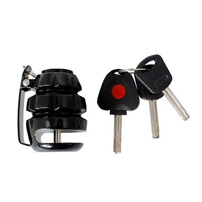 TRIK MOTO MOTORCYCLE GRENADE DISC LOCK  black