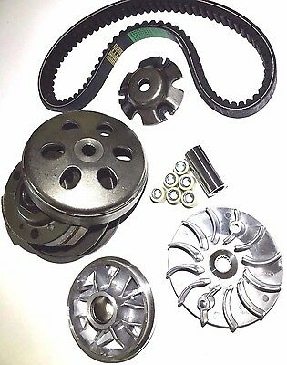 Transmission Rebuild Kit Dazon Raider 150 Go Kart Variator Pulley Clutch Belt