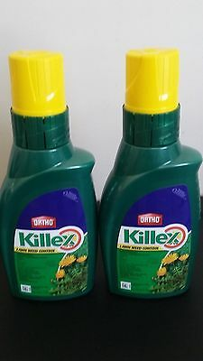2 Ortho Killex Lawn Weed Control Concentrate 1L Liquid Herbicide Killer Solution