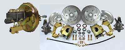 1964-72 GM A,F,X Body Disc Drop Brake Conversion Kit Camaro, Chevelle, Nova, GTO