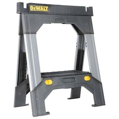 Adjustable Sawhorse Metal Legs Saw Horse Light Folding Portable Heavy Duty New