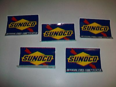 Lot 5 Decal Sticker SUNOCO OFFICIAL FUEL OF NASCAR