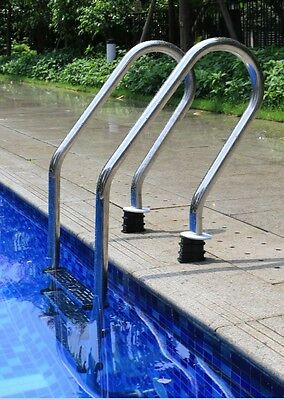 In Ground Swimming Pools 5 Step Ladder Stainless Steel Entry Systerm Yard Tool