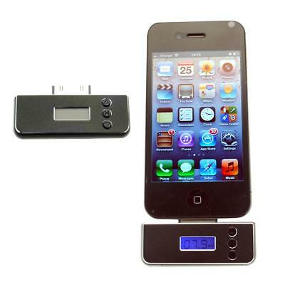 New Fm Radio Transmitter Wireless For Apple Iphone 4 4S 4G 4Gs 3G 3Gs