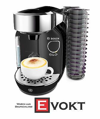 BOSCH TAS7002 TASSIMO Coffee Capsule Machine 1.2L Black Silver Genuine NEW