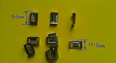 LAND ROVER FYC500120 CONSOLE CLIP x25 RANGE ROVER SPORT USED ON CONSOLE PARTS