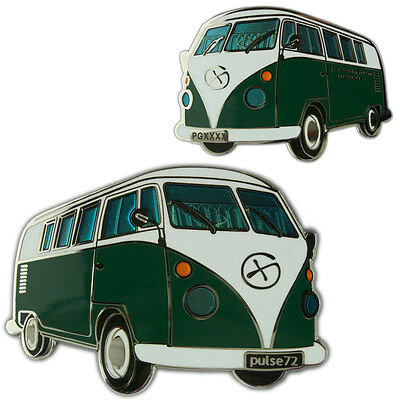 Campervan (Camper Van) Geocoin For Geocaching (Travel Bug) 5 Colours Available