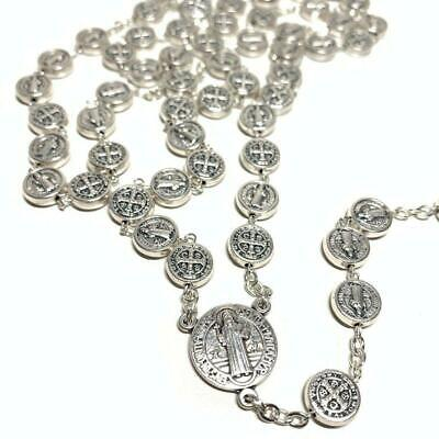 Saint St. Benedict Rosary -Exorcism -Blessed By Pope -Rosario De San Benito
