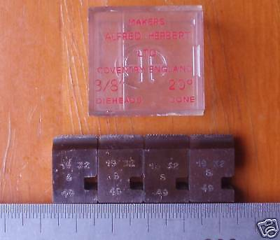 "Dies: Coventry Die Head chaser - S.A.E. UNF 19-32, 3/8"" Dieheads S"