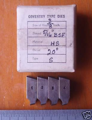 "Coventry Die Head chaser - 5/16"" BSF 22,  3/8"" Dieheads S53"